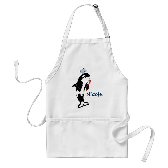Orca in the Kitchen Apron