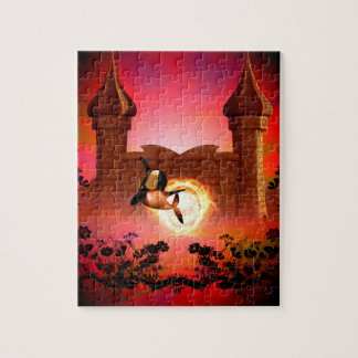Orca in the sunset puzzle