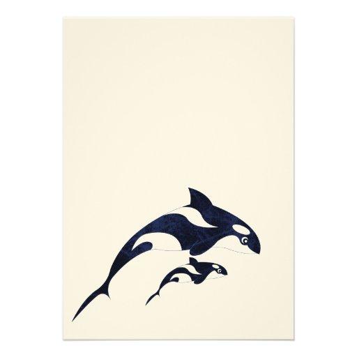 Orca Invitacion Personal