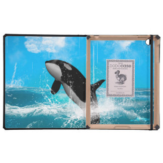 Orca jumping cover for iPad