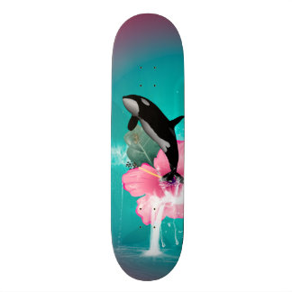 Orca jumping skate deck