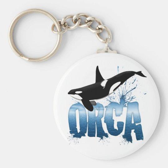 Orca Keychain