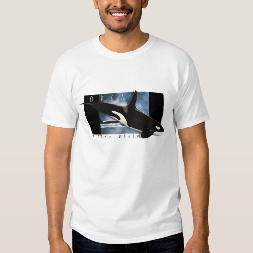 Orca, Killer Whale art T-Shirt