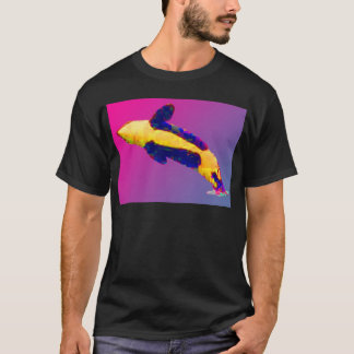 Orca Killer Whale Breaching in Bright Colors T-Shirt