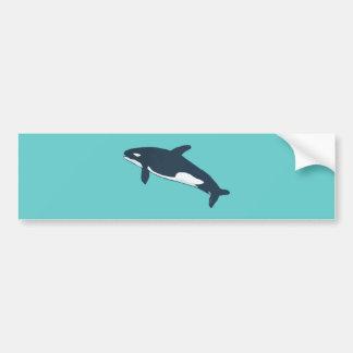 orca killer whale bumper sticker