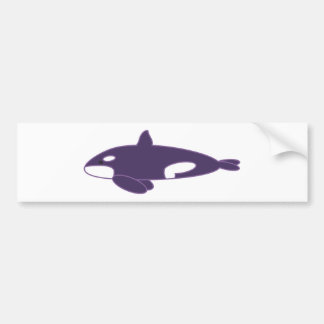 Orca / Killer Whale Car Bumper Sticker