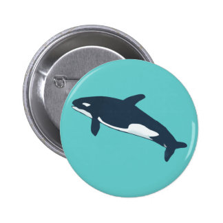 orca killer whale buttons