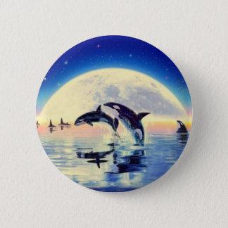 Orca Killer Whale Button