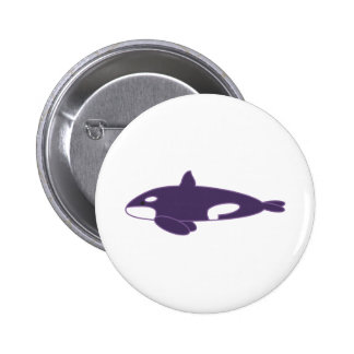 Orca / Killer Whale Pinback Buttons