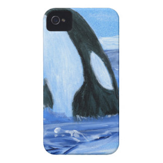 Orca killer whale Case-Mate iPhone 4 cases