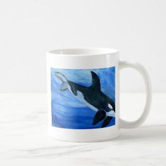 Orca killer whale coffee mug