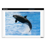 "Orca Killer Whale Decal For 17"" Laptop"