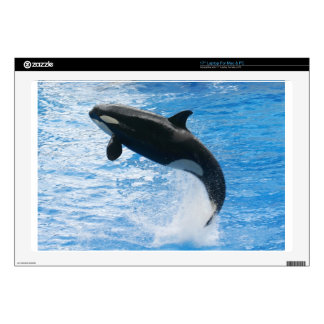 """Orca Killer Whale Decal For 17"""" Laptop"""