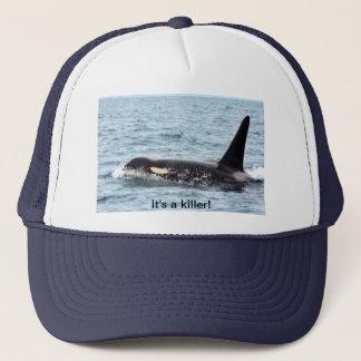 orca killer whale hat - it's a killer