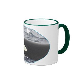Orca Killer Whale Head - Oval Mug