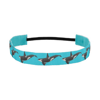 Orca Killer Whale Headband
