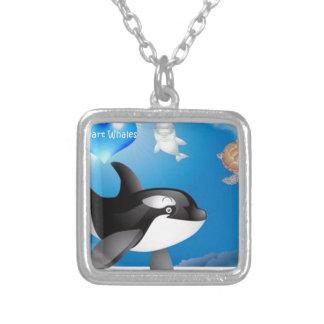 Orca (Killer Whale) I heart designs Pendant