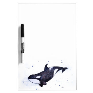 Orca Killer whale illustration Dry-Erase Board