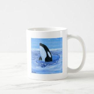 Orca killer whale classic white coffee mug