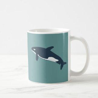 orca killer whale coffee mugs