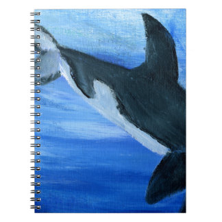 Orca killer whale notebook