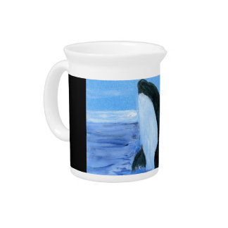Orca killer whale pitcher