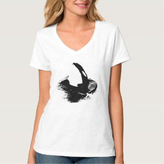 """Orca """"killer whale"""" shirt - White"""