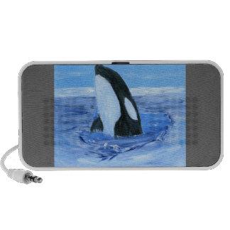 Orca killer whale speaker system
