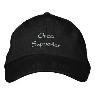 ORCA (Killer Whale) Supporter Embroidered Hat