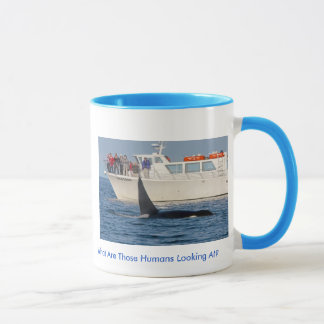 Orca Killer Whale -transient, washington Mug