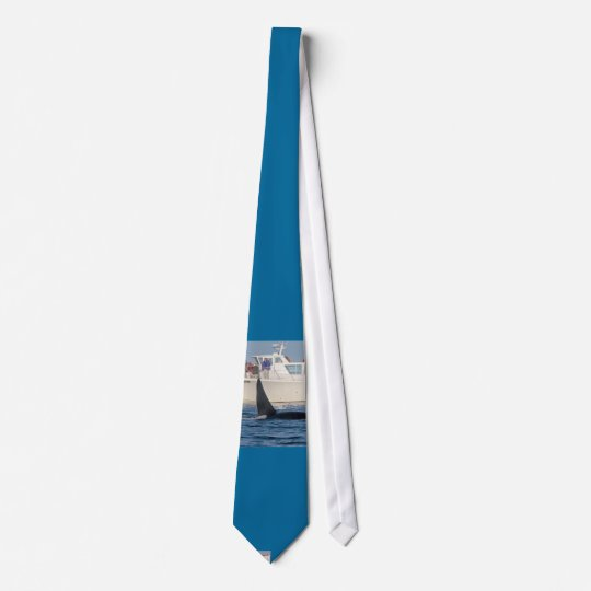 Orca Killer Whale -transient, washington Neck Tie