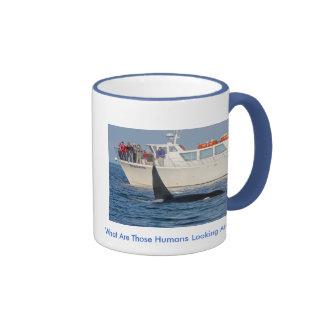 Orca Killer Whale -transient, washington Ringer Mug