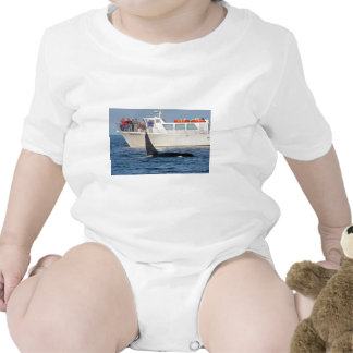 Orca Killer Whale -transient, washington Baby Bodysuits