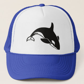 Orca Killer Whale Trucker Hat