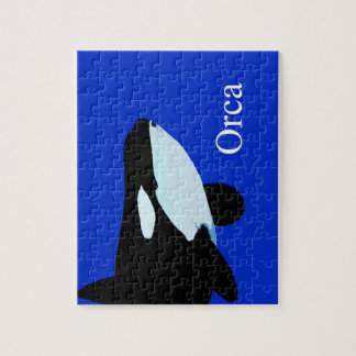 orca killer whale underwater graphic txt puzzle
