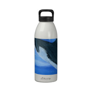 Orca killer whale water bottles