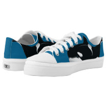 Orca Killer Whale Zipz Low Top