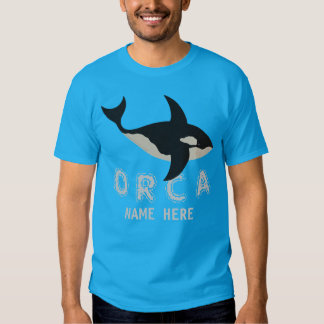 Orca Leather Look Choose Your Side Manly Animals Shirt