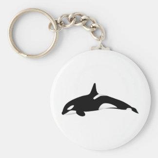 Orca Llavero Redondo Tipo Pin