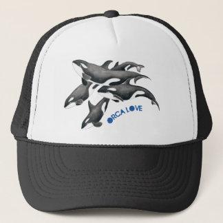 ORCA LOVE POD TRUCKER HAT