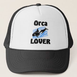 Orca Lover Trucker Hat