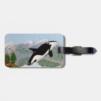 Orca Luggage Tags