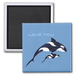 Orca Fridge Magnet