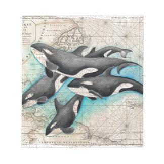 Orca Map Atlas Notepad