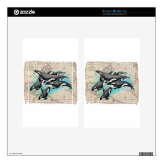 Orca Map Atlas Skins For Kindle Fire