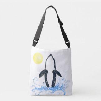 orca moon crossbody bag