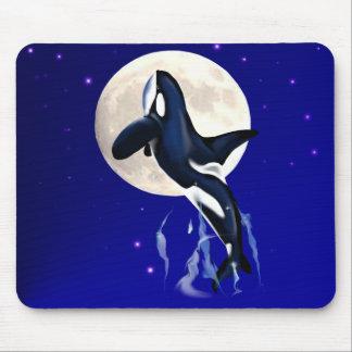 Orca Moon Mousepad