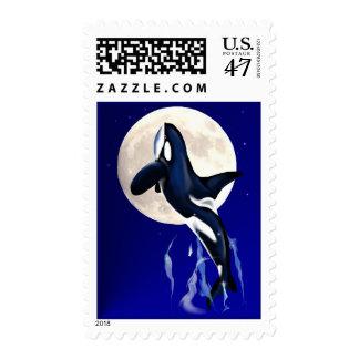 Orca Moon Postage