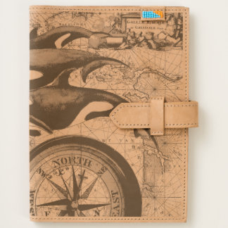 Orca Nautical Compass Journal