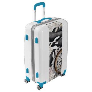 Orca Nautical Compass Luggage